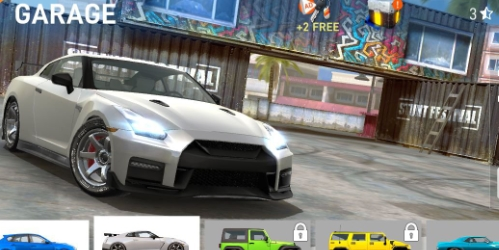 Car Stunt Races на Андроид