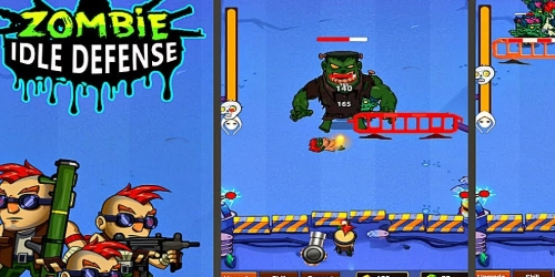 Zombie IDLE Defense на Андроид