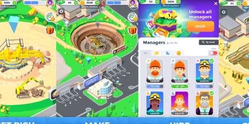 Mining Inc на Андроид