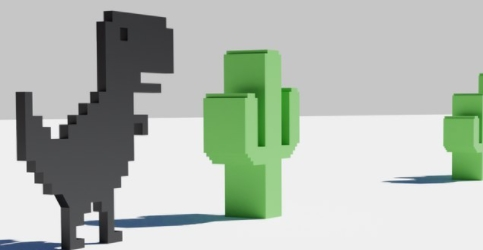 Dino 3D на Андроид