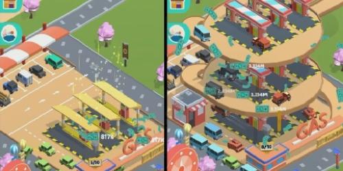 Idle Car Tycoon на Андроид