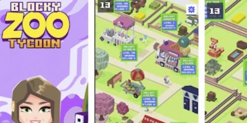 Blocky Zoo Tycoon на Андроид