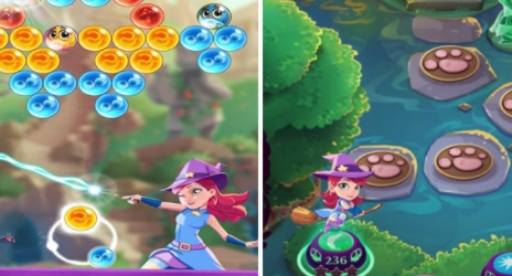 Bubble Witch 3 Saga на Андроид